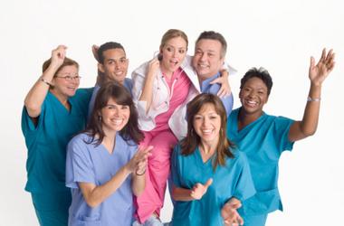 Arbeitskleidung Medizin und Pflege